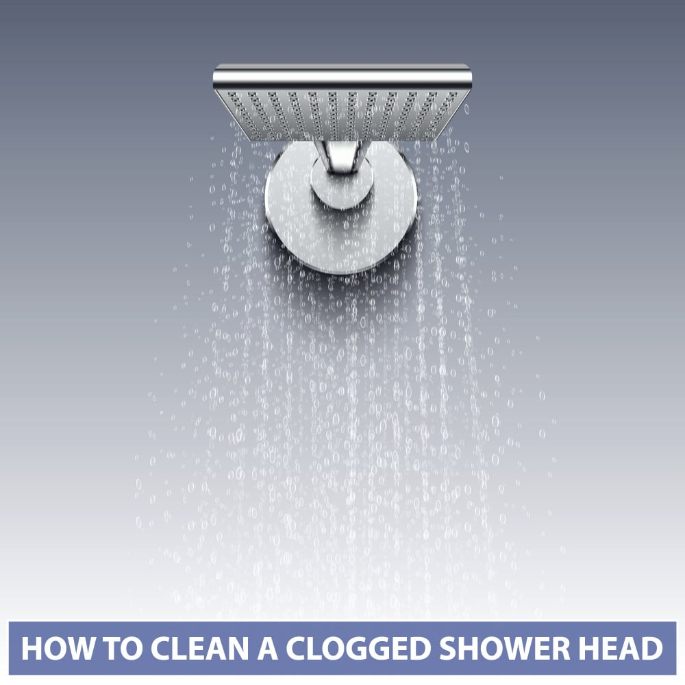 How to Clean a Clogged Shower Head